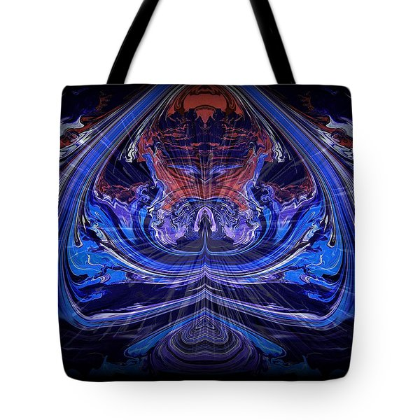 Abstract 71 Tote Bag by J D Owen