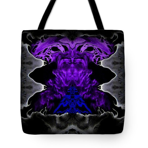 Abstract 83 Tote Bag by J D Owen