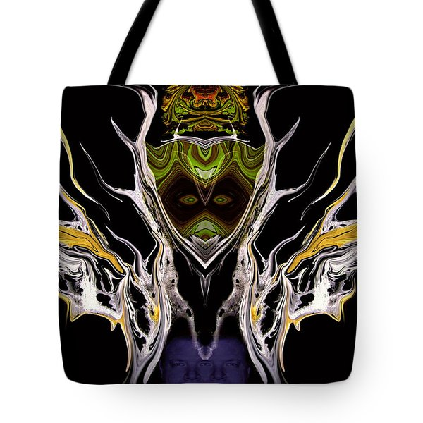 Abstract 94 Tote Bag by J D Owen