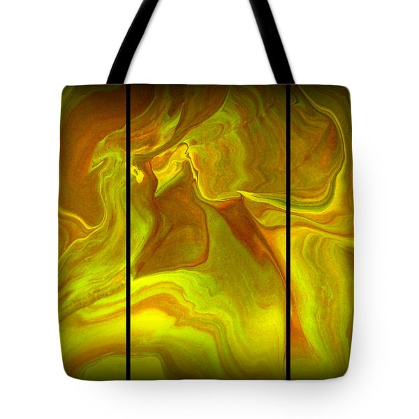 Abstract 99 Tote Bag by J D Owen