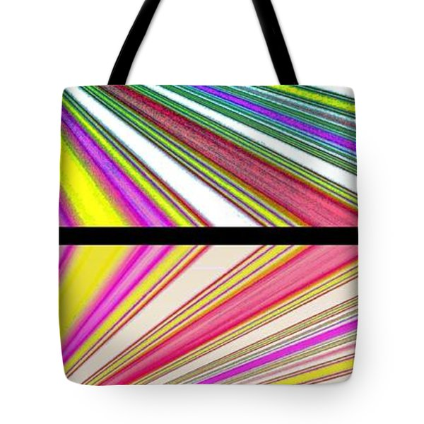Abstract Fusion 221 Tote Bag by Will Borden