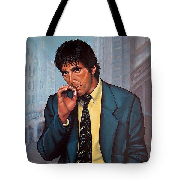 Al Pacino 2 Tote Bag by Paul Meijering