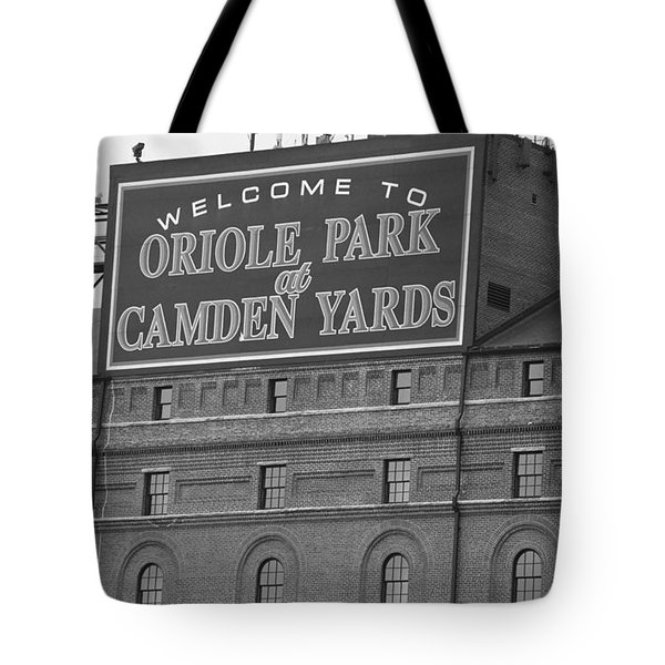 Baltimore Orioles Park At Camden Yards Tote Bag