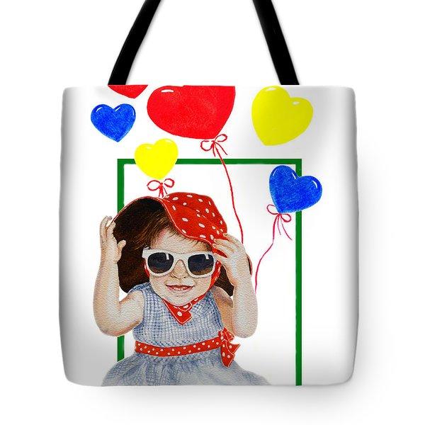 Be My Valentine Tote Bag by Irina Sztukowski
