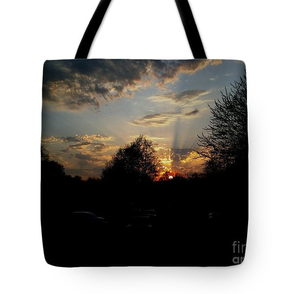 Tote Bag featuring the photograph Beauty In The Sky by Kelly Awad