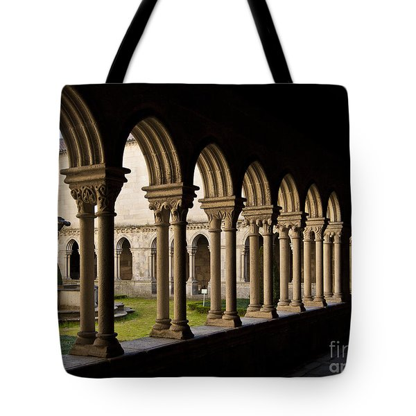 Benedictine Gothic Cloister Tote Bag by Jose Elias - Sofia Pereira
