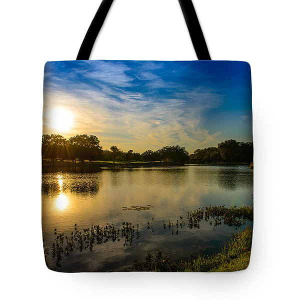 Berry Creek Pond Tote Bag