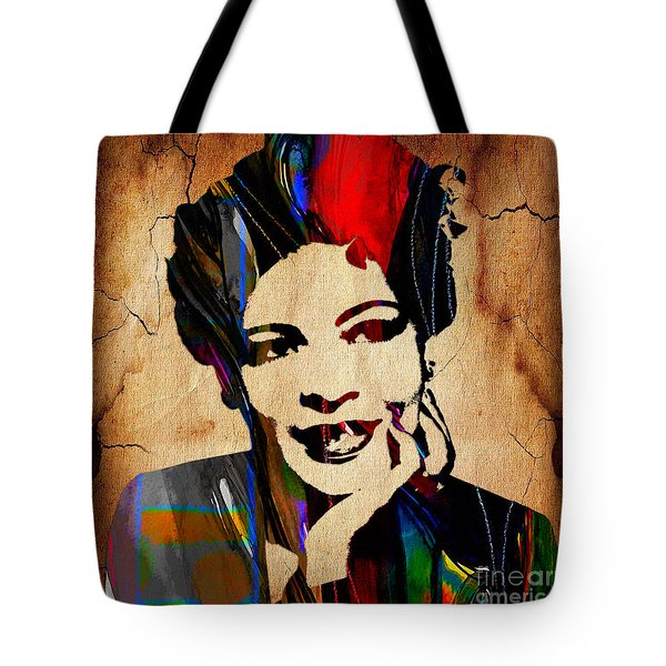 Billie Holiday Collection Tote Bag