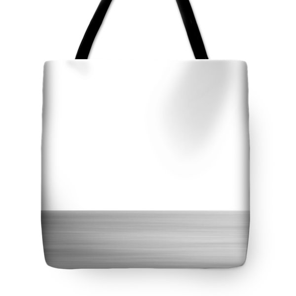 Black And White Abstract Seascape No. 02 Tote Bag