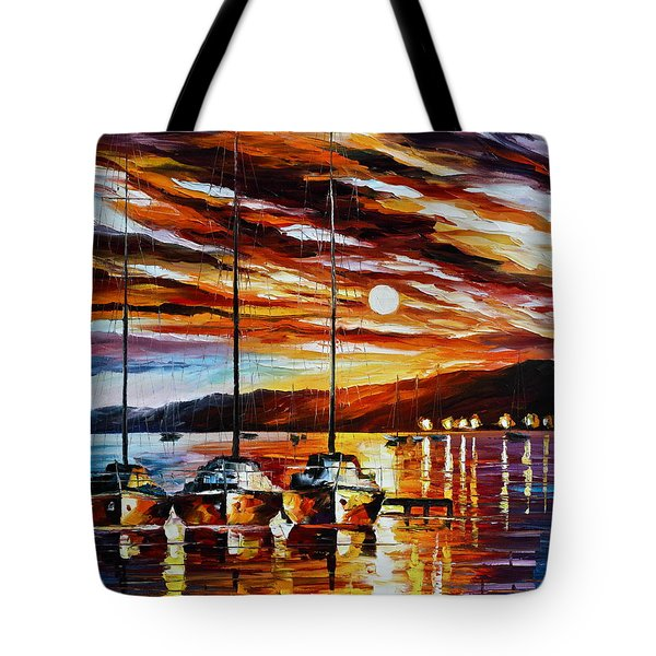 3 Borthers Tote Bag by Leonid Afremov