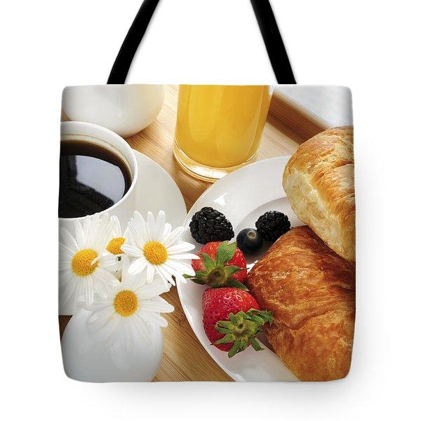 Breakfast  Tote Bag by Elena Elisseeva