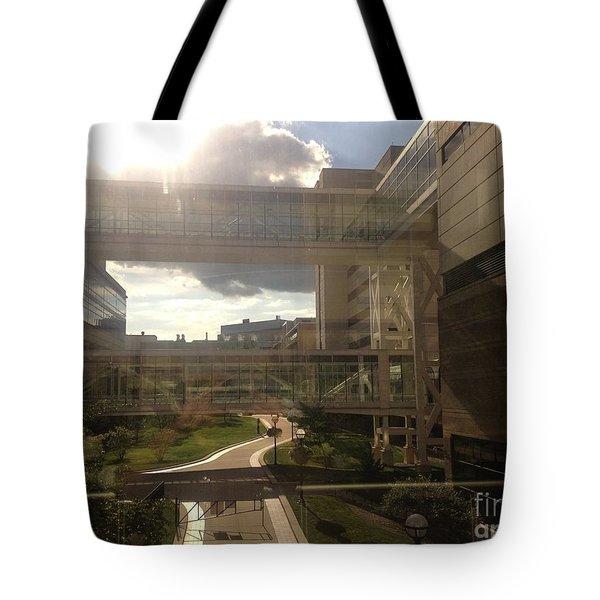 Bridge Tote Bag by Joseph Yarbrough