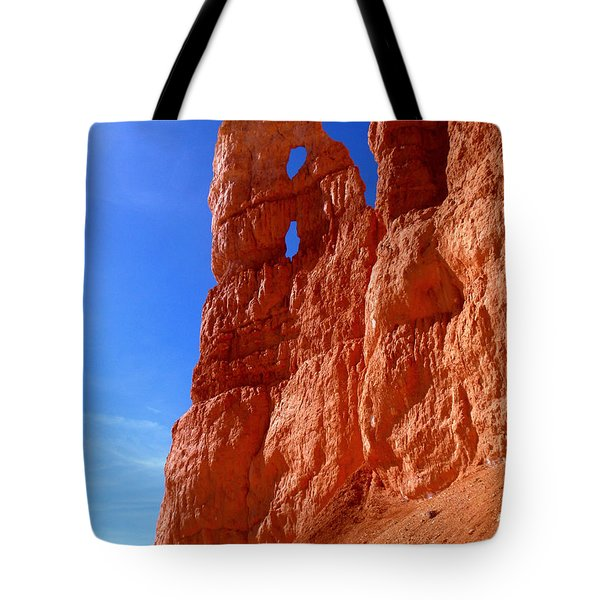 Bryce Canyon National Park Tote Bag by Rona Black