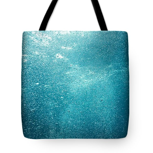 Bubbles Underwater Tote Bag by Stuart Westmorland