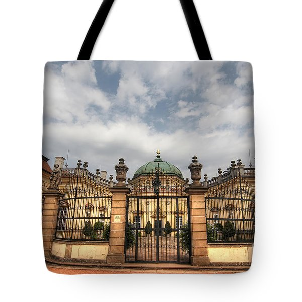 Buchlovice Castle Tote Bag by Michal Boubin