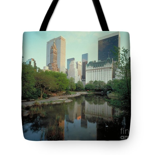 Central Park Tote Bag by Rafael Macia