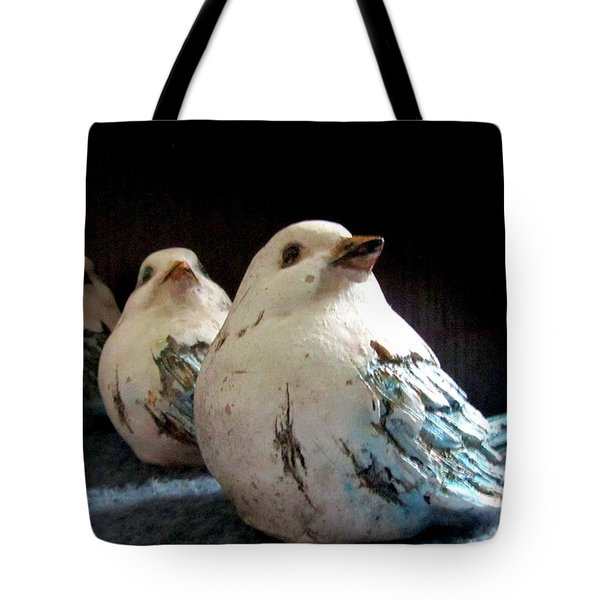 3 Cheeky Chicks 2 Tote Bag by Danielle  Parent