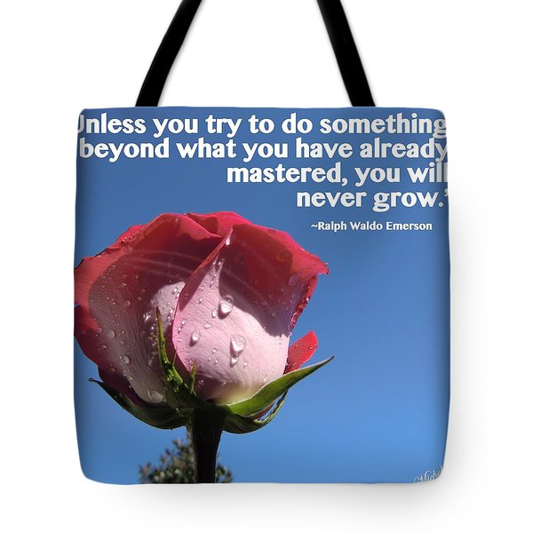 Choose Your Quote Choose Your Picture 21 Tote Bag