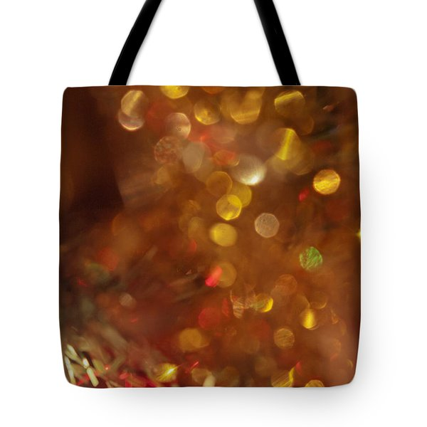 Christmas Tree Decorated  Tote Bag