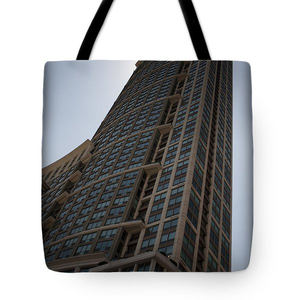 Tote Bag featuring the photograph City Architecture by Miguel Winterpacht