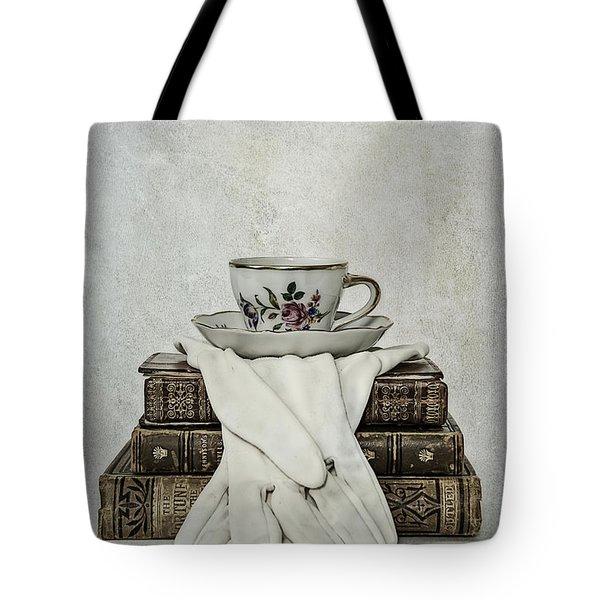 Coffee Time Tote Bag by Joana Kruse
