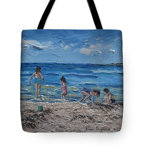 Coral Strand Connemara Ireland Tote Bag