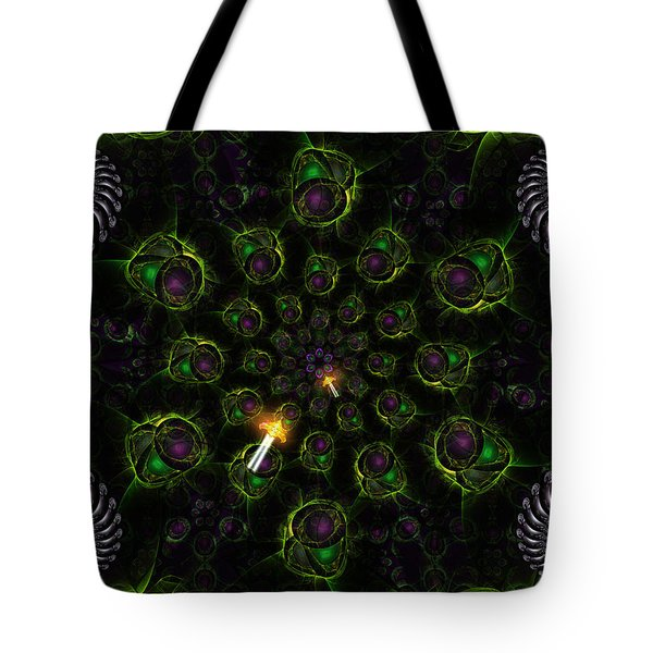 Cosmic Embryos Tote Bag by Shawn Dall