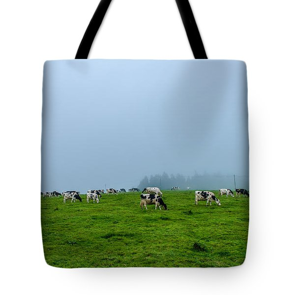 Cows In The Field Tote Bag