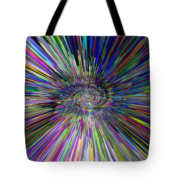 3 D Dimensional Art Abstract Tote Bag