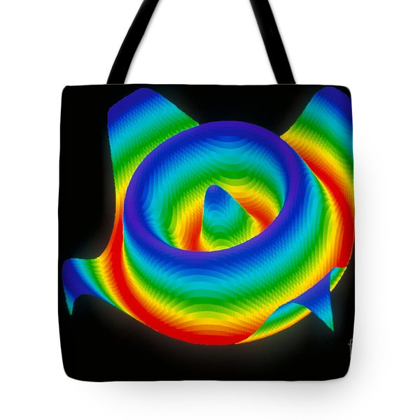 3-d Surface Tote Bag by Scott Camazine
