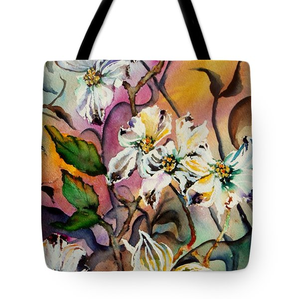 Dance Of The Dogwoods Tote Bag