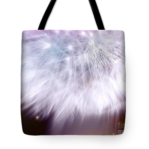 Tote Bag featuring the photograph Dandelion by France Laliberte