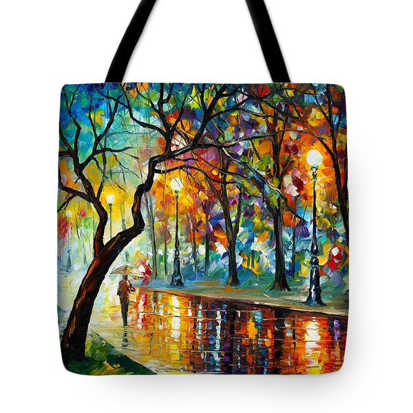 Dark Night Tote Bag by Leonid Afremov