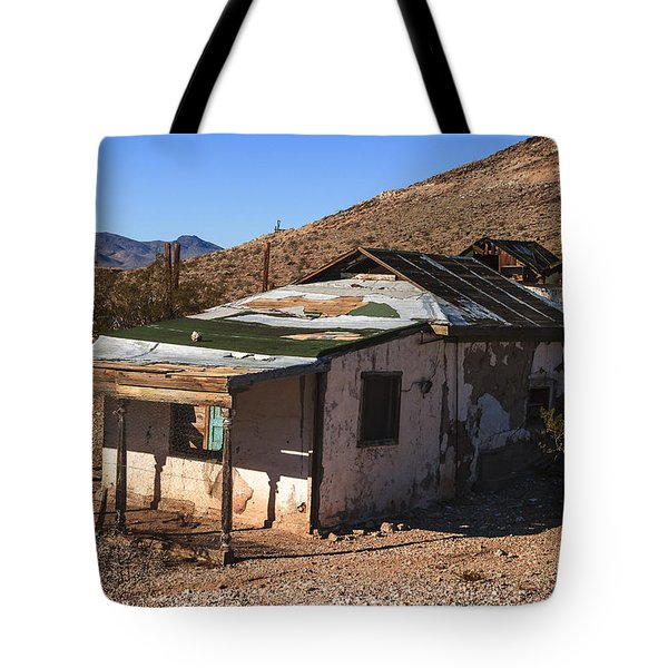 Death Valley Tote Bag by Muhie Kanawati