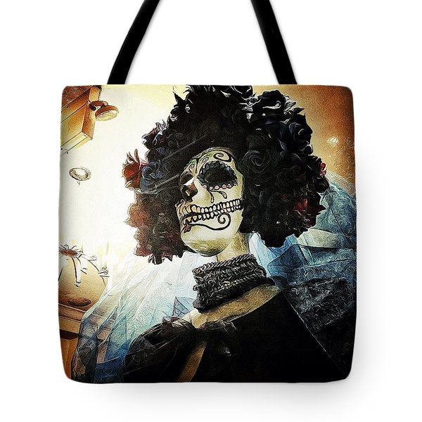 Dia De Los Muertos Tote Bag by Natasha Marco