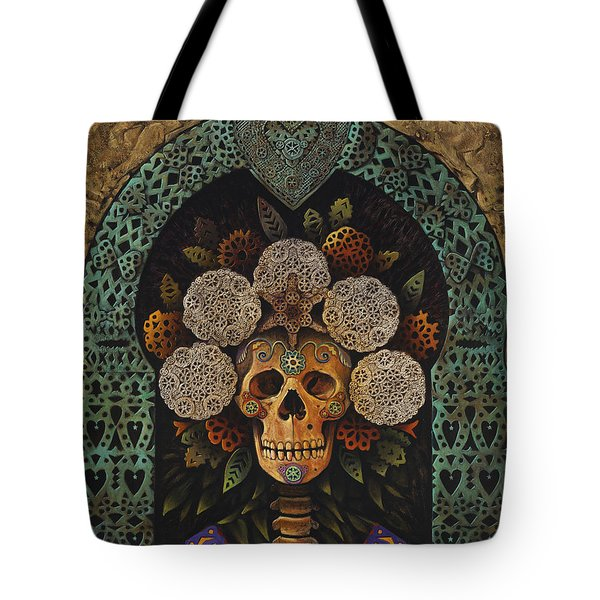 Dia De Muertos Madonna Tote Bag