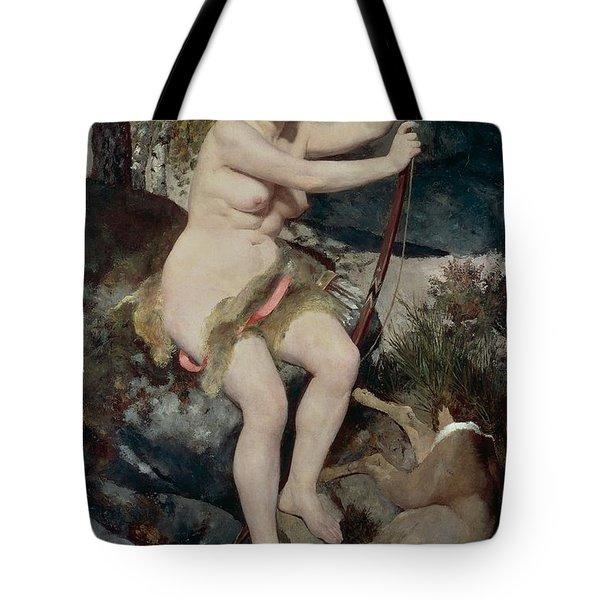 Diana Tote Bag by Pierre-Auguste Renoir