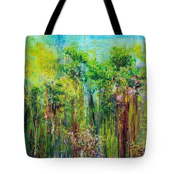 Edge Of Eden Tote Bag by Regina Valluzzi