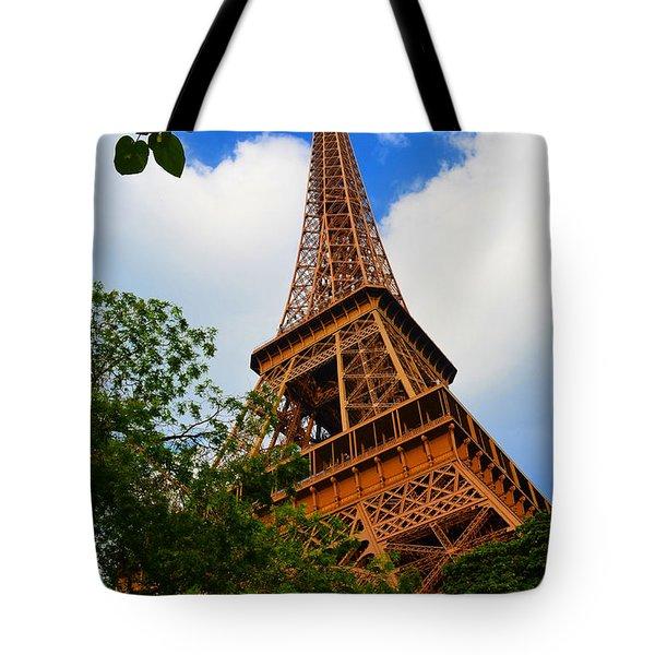 Eiffel Tower Paris France Tote Bag by Patricia Awapara