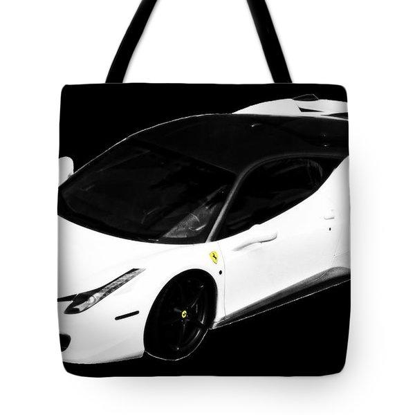 Ferrari Tote Bag by J Anthony