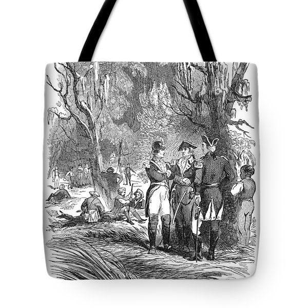 Francis Marion (1732?-1795) Tote Bag by Granger