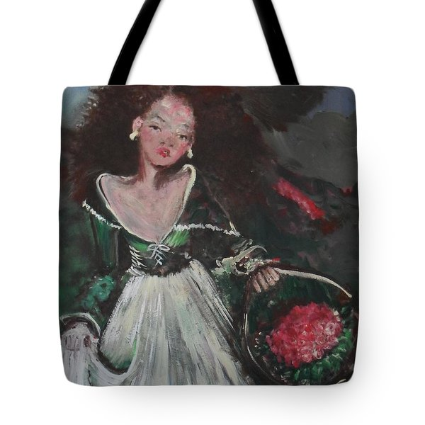 Tote Bag featuring the painting Free by Laurie L