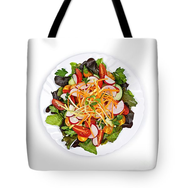 Garden Salad Tote Bag by Elena Elisseeva