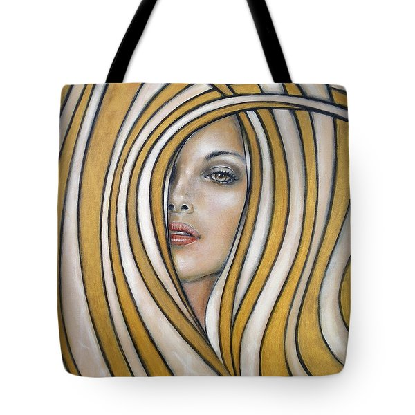 Golden Dream 060809 Tote Bag by Selena Boron