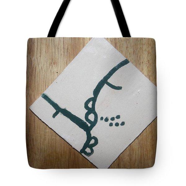 Grace - Tile Tote Bag by Gloria Ssali