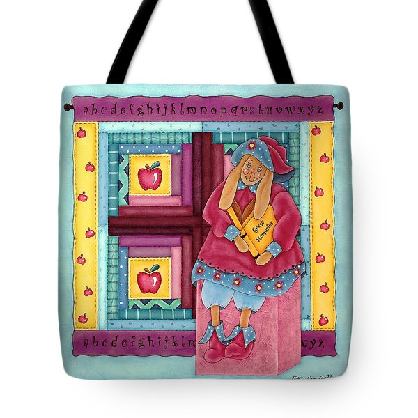 Great Memories Tote Bag by Tracy Campbell