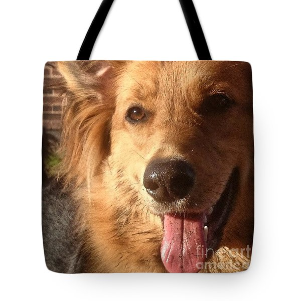 #gsd #germanshepherd #germanshepherddog Tote Bag