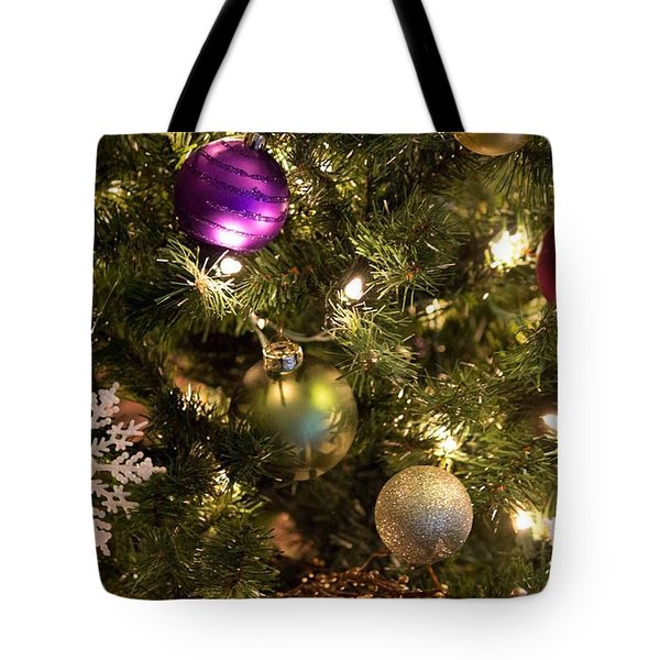 Happy Holidays Tote Bag by Patricia Babbitt