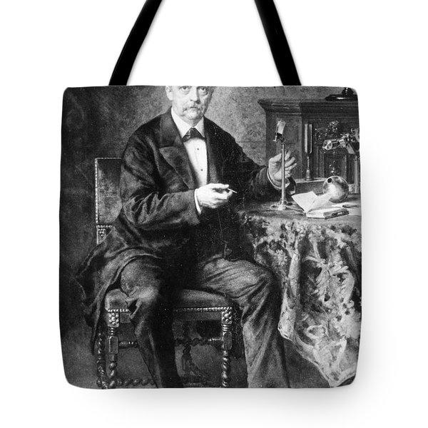 Hermann Von Helmholtz (1821-1894) Tote Bag