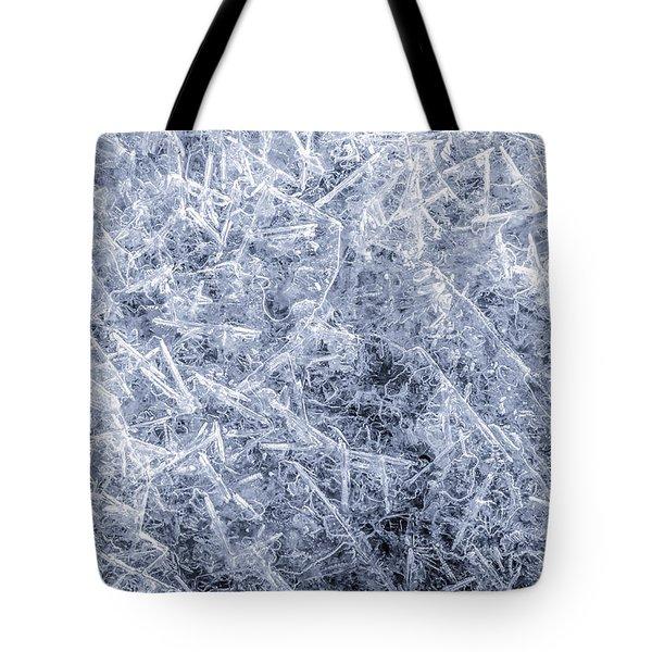 Ice On Minnehaha Creek 2 Tote Bag